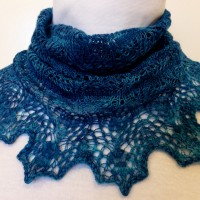 Baltic Blue cowl.