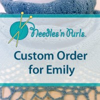 Custom Order cowl for Emily.