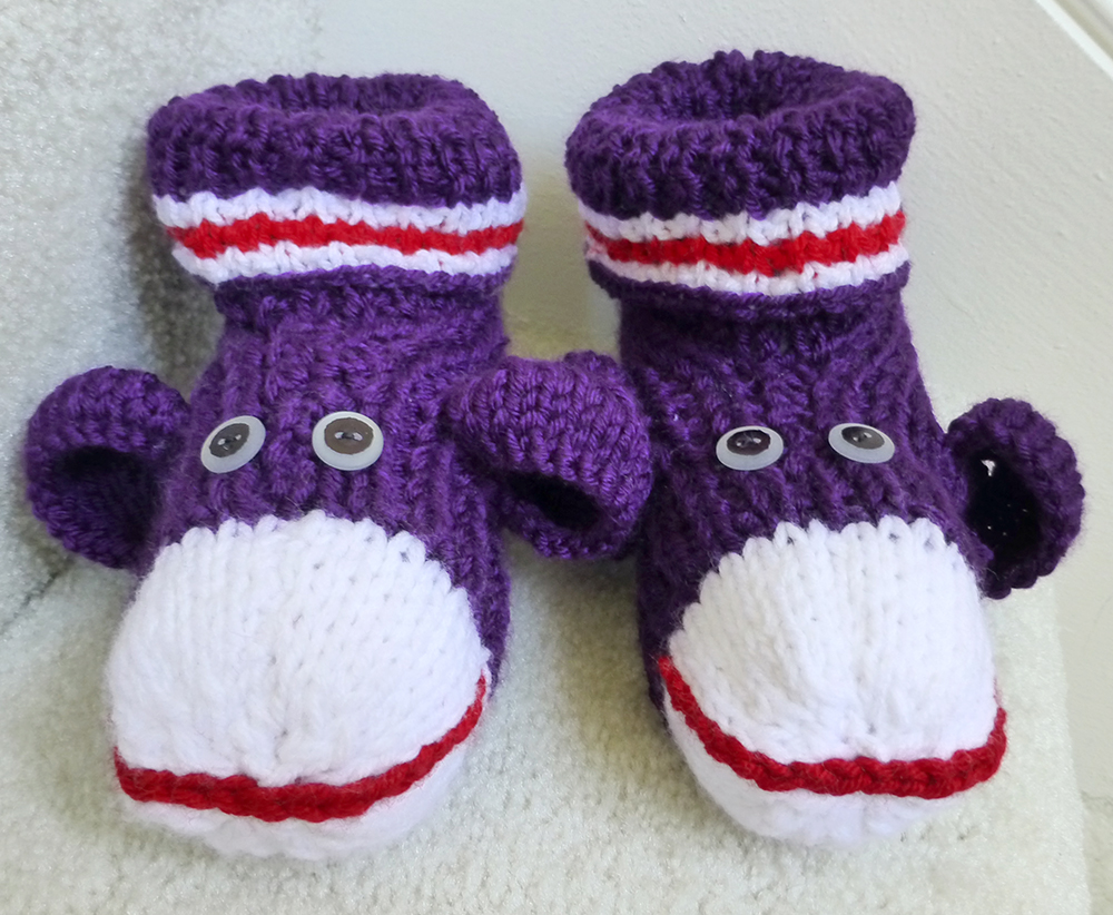 Sock Monkey slippers, where are you? | Needles N Purls