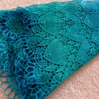 Dragonheart Shawl.
