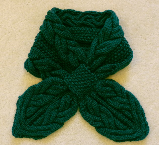Rainforest Cables scarf.