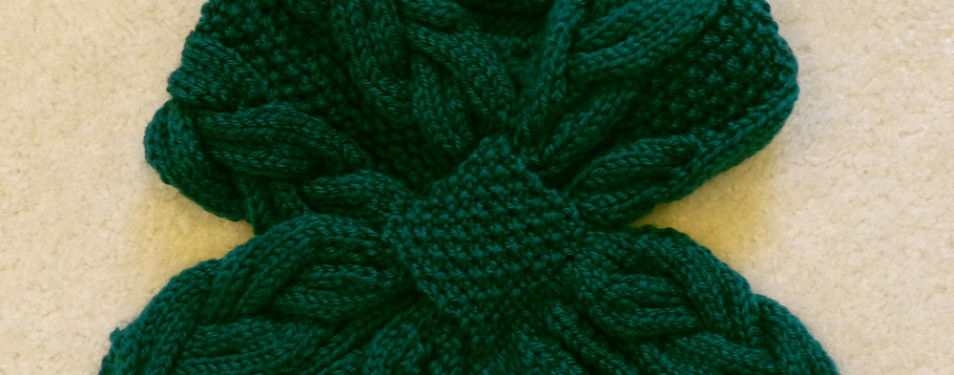 In the Store: Rainforest Cables scarf