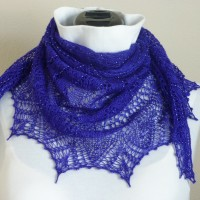 Lightning Thief shawl.