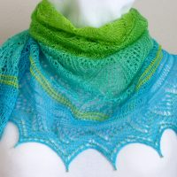Spring Breeze shawl.