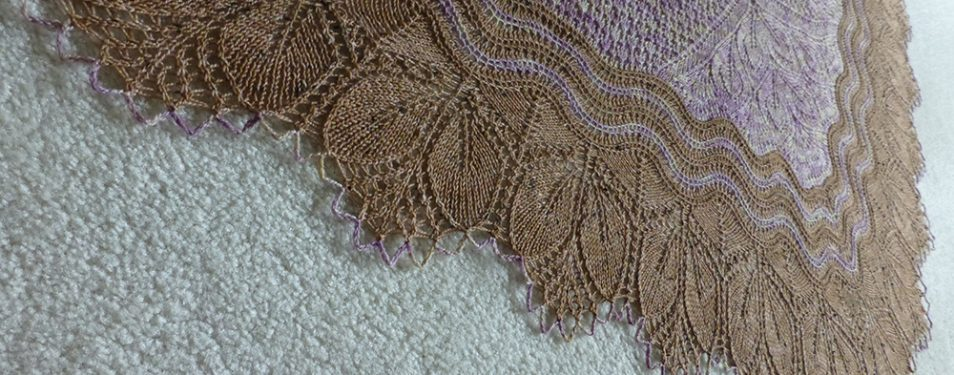 In the Store: Downton Abbey shawl