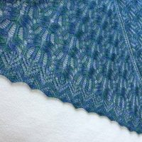 Ocean Waves shawl