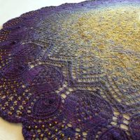 The Winter Sea shawl