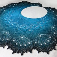 Exotic 1001 Nights shawl