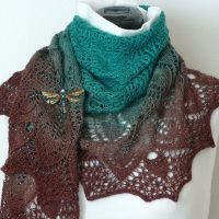 Secret Garden shawl.