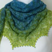 Our Planet Earth shawl.