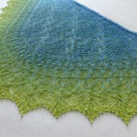 Our Planet Earth shawl