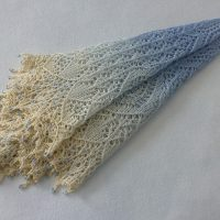 Winter Wonderland shawl.