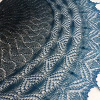 Lightning Thief shawl