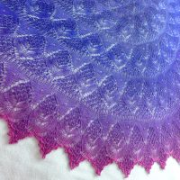 Garden of Sincerity shawl