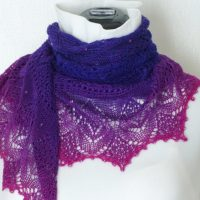Garden of Sincerity shawl.