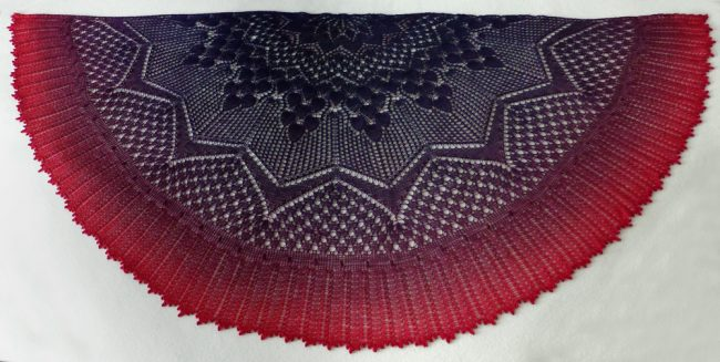 Rites of Spring shawl.