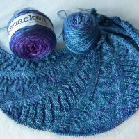 On the Needles! Written in the Stars shawl