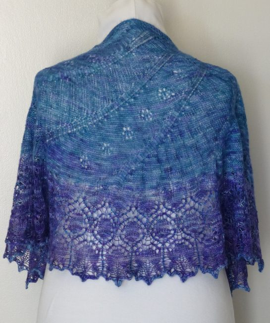 Written in the Stars shawl.