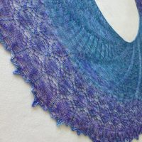 In the Store: Written in the Stars shawl