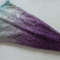 Dawn Awaits shawl.