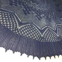 Night Skies shawl