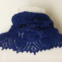 Flowers of Scotland cowl.