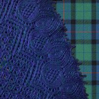 Bonnie Flowers of Scotland cowl