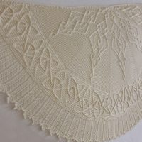 Celtic Dragon shawl