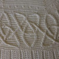 Celtic Dragon shawl.