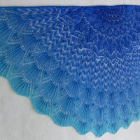 In the Store: Monterey by the Sea shawl
