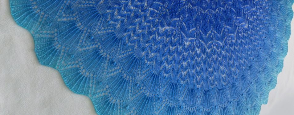 Monterey by the Sea shawl