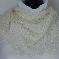 Wedded Thistles shawl.