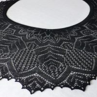 Night Maiden shawl.