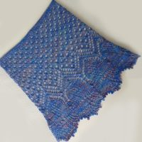 In the Store: Thistles and Bluebells cowl