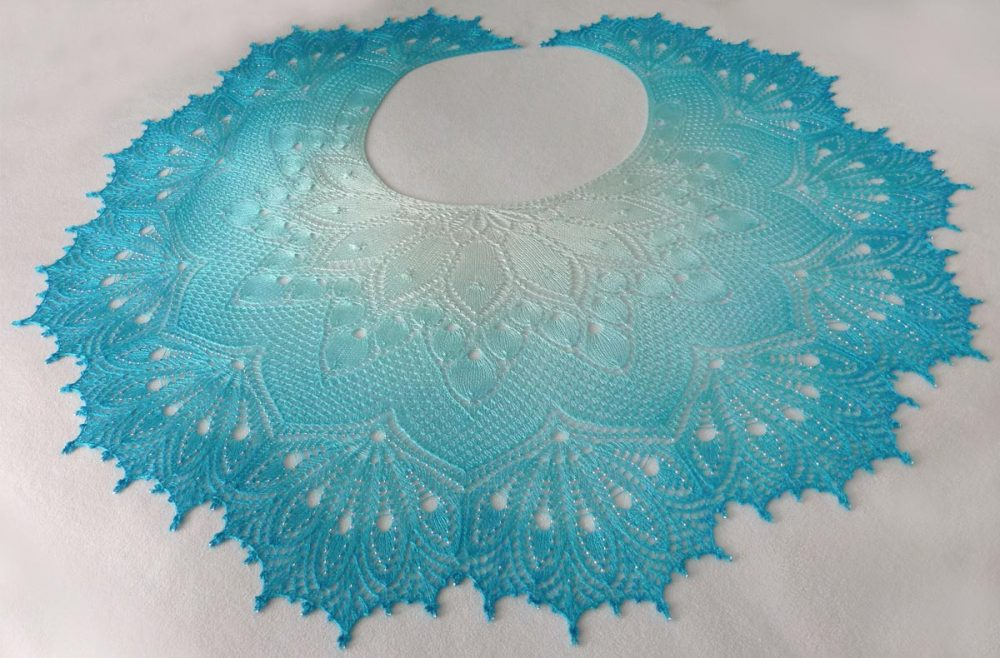 1001 Nights by the Sea shawl.