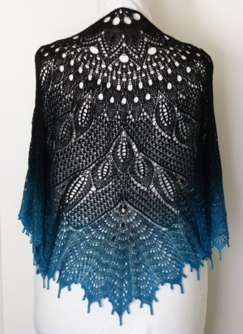 Black Swan shawl.