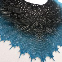 Black Swan shawl