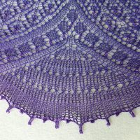 Moonbeams and Magic Shawl.