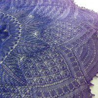 In the Store: Moonbeams & Magic shawl