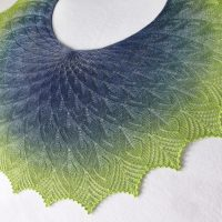 Olympic Rainforest Shawl
