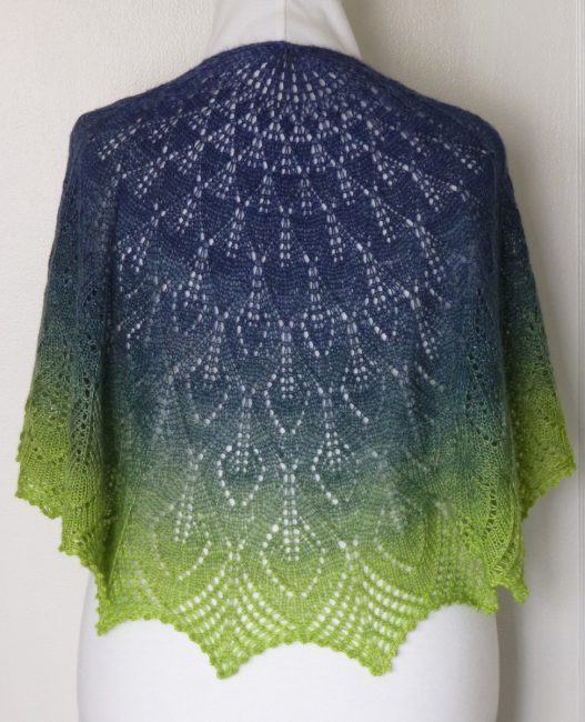 Olympic Rainforest shawl.