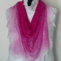 Pink Panther Shawl.
