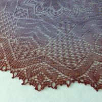 In the Store: Harvest Maiden shawl