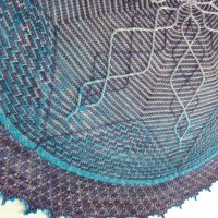In the Store: Dazzling Earthstar Shawl