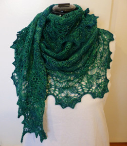 Morning glory shawl