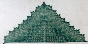 Emerald Forest shawl.