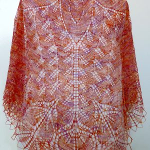 Italian Sunset shawl.