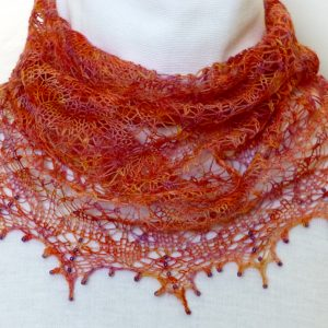 Italian Sunset cowl.
