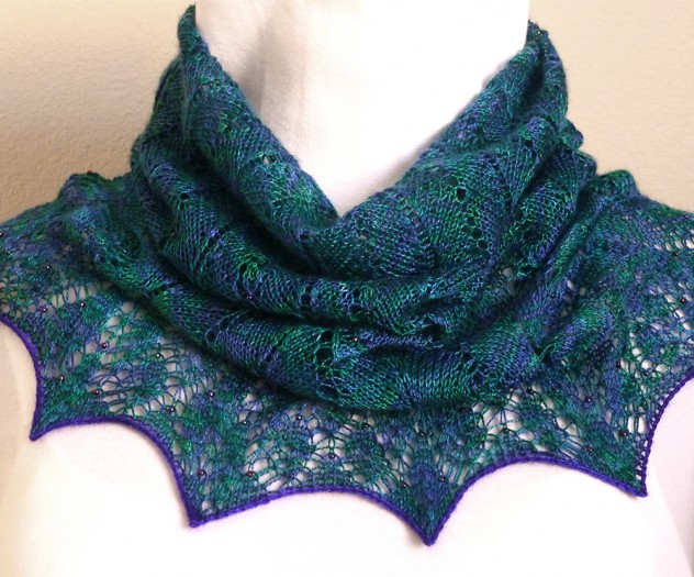 Proud as a Peacock cowl.