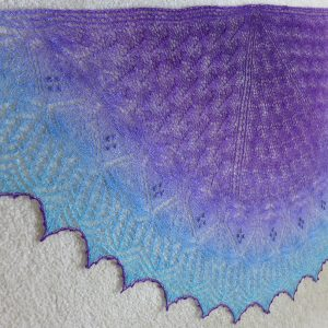 Witchy Woman shawl.